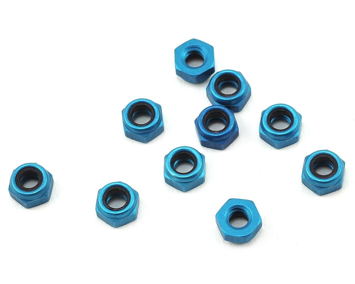 Custom Works Rocket Stage 3 4-40 Aluminum Locknut (10)