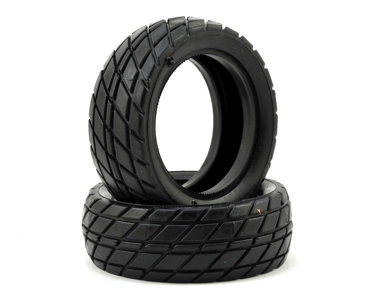 Custom Works Sticker Dirt Oval Front Tires (2)