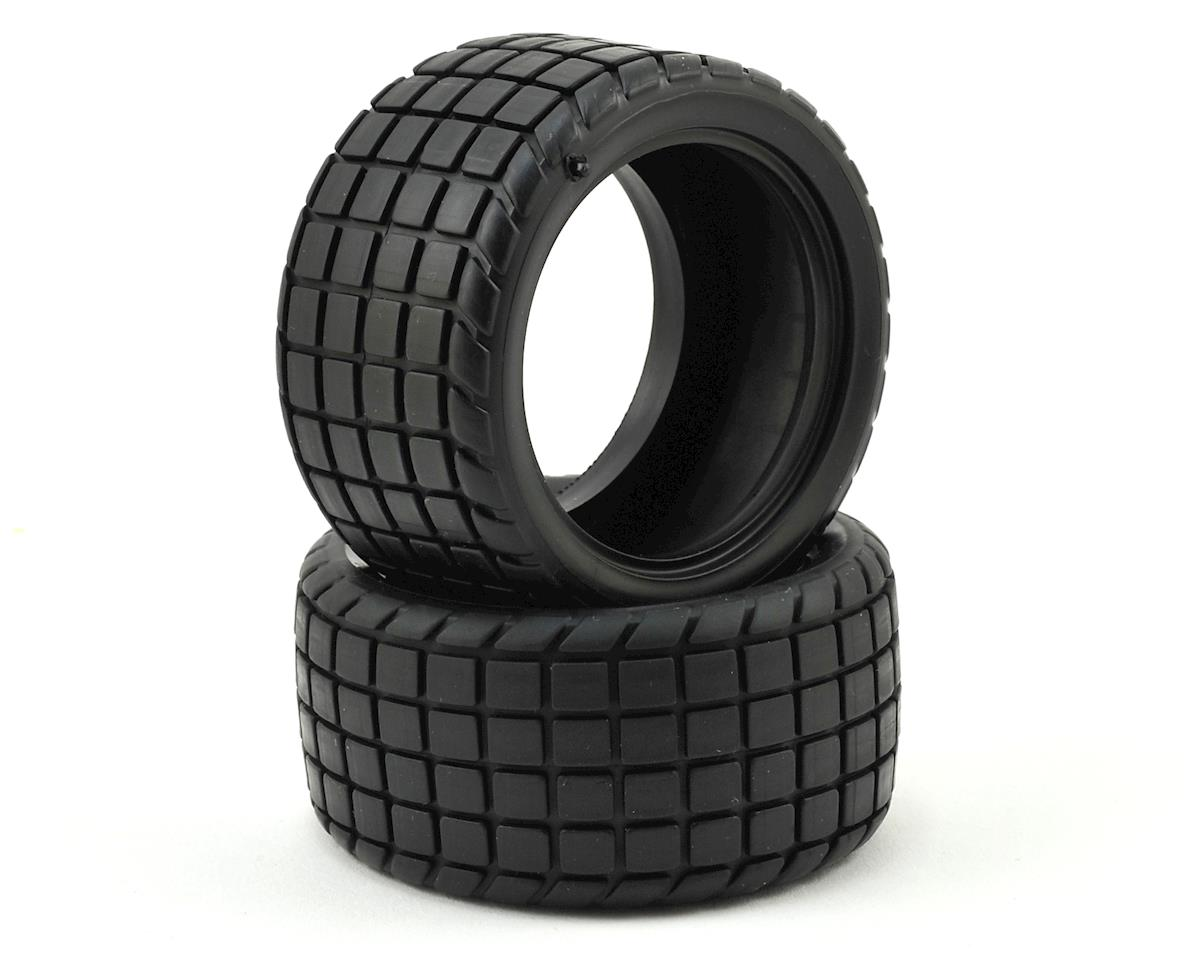 Custom Works Sticker 2 Dirt Oval Rear Tires (2) (HB)