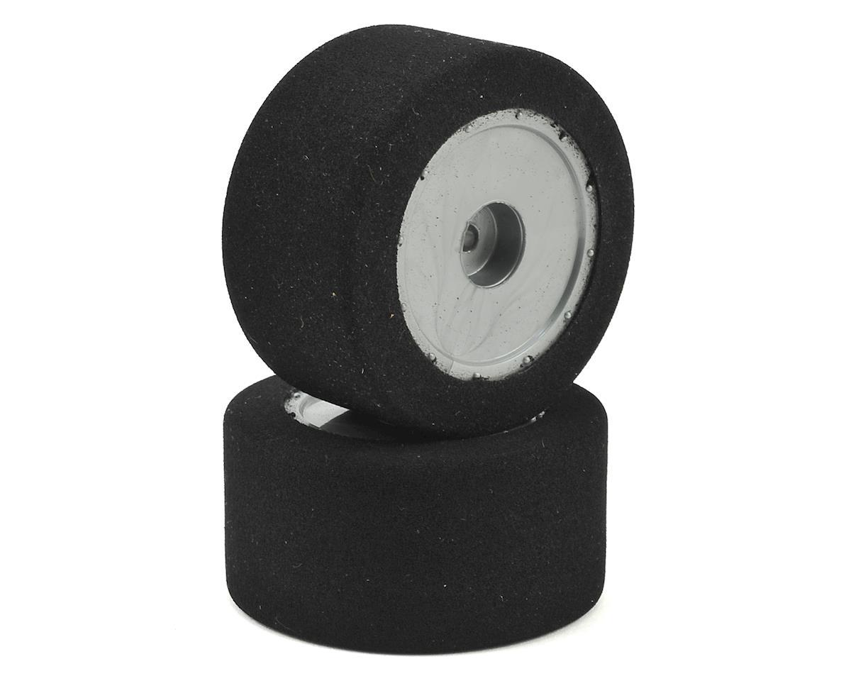 Custom Works Foam Pre-Mounted Dirt Oval Rear Tires (2) (X3)
