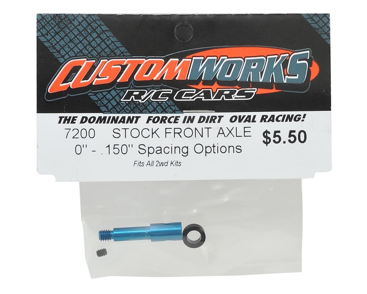 Custom Works Front Axle