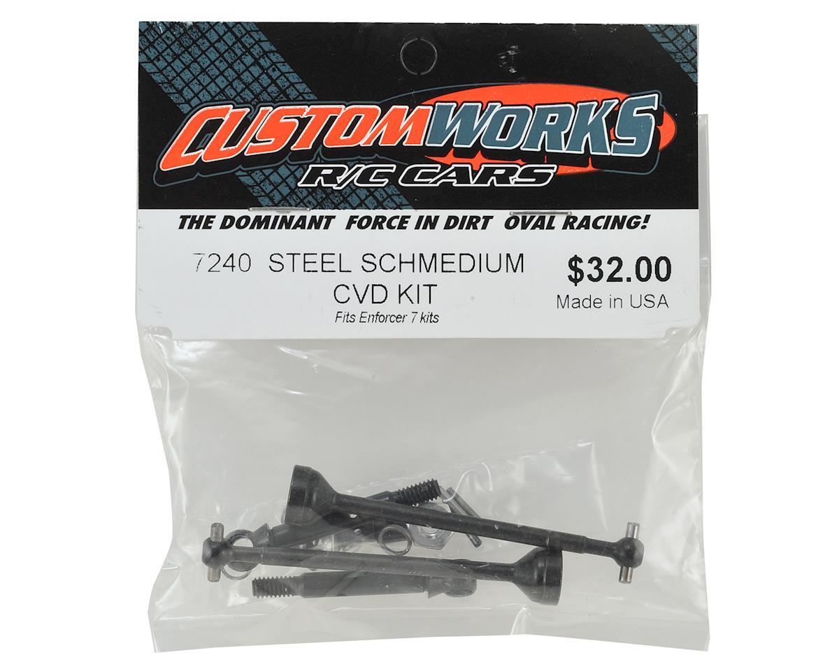 Custom Works Steel Schmedium CVD Kit