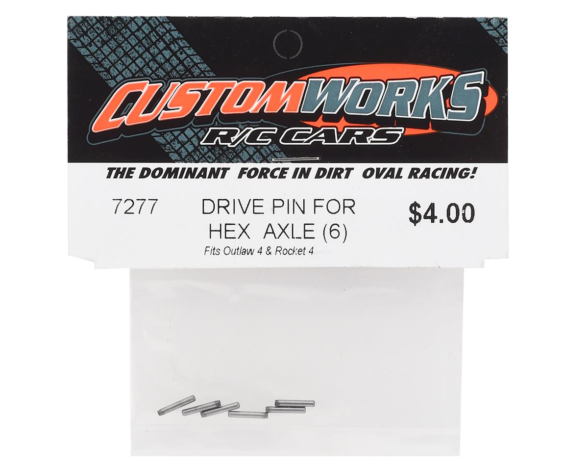 Custom Works Outlaw 4 Hex Drive Pin (6)
