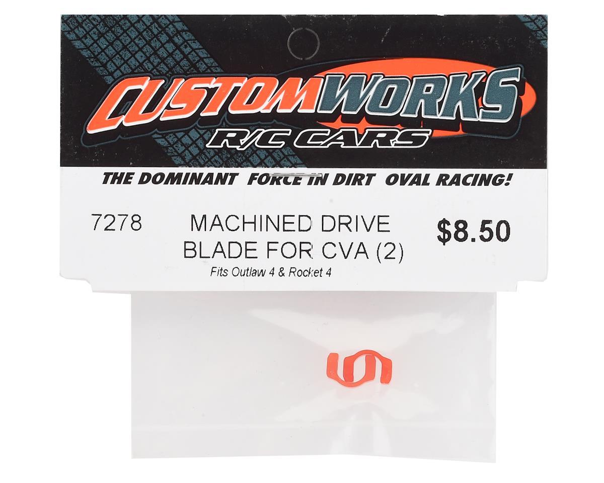 Custom Works Outlaw 4 Machined CVA Drive Blade (2)
