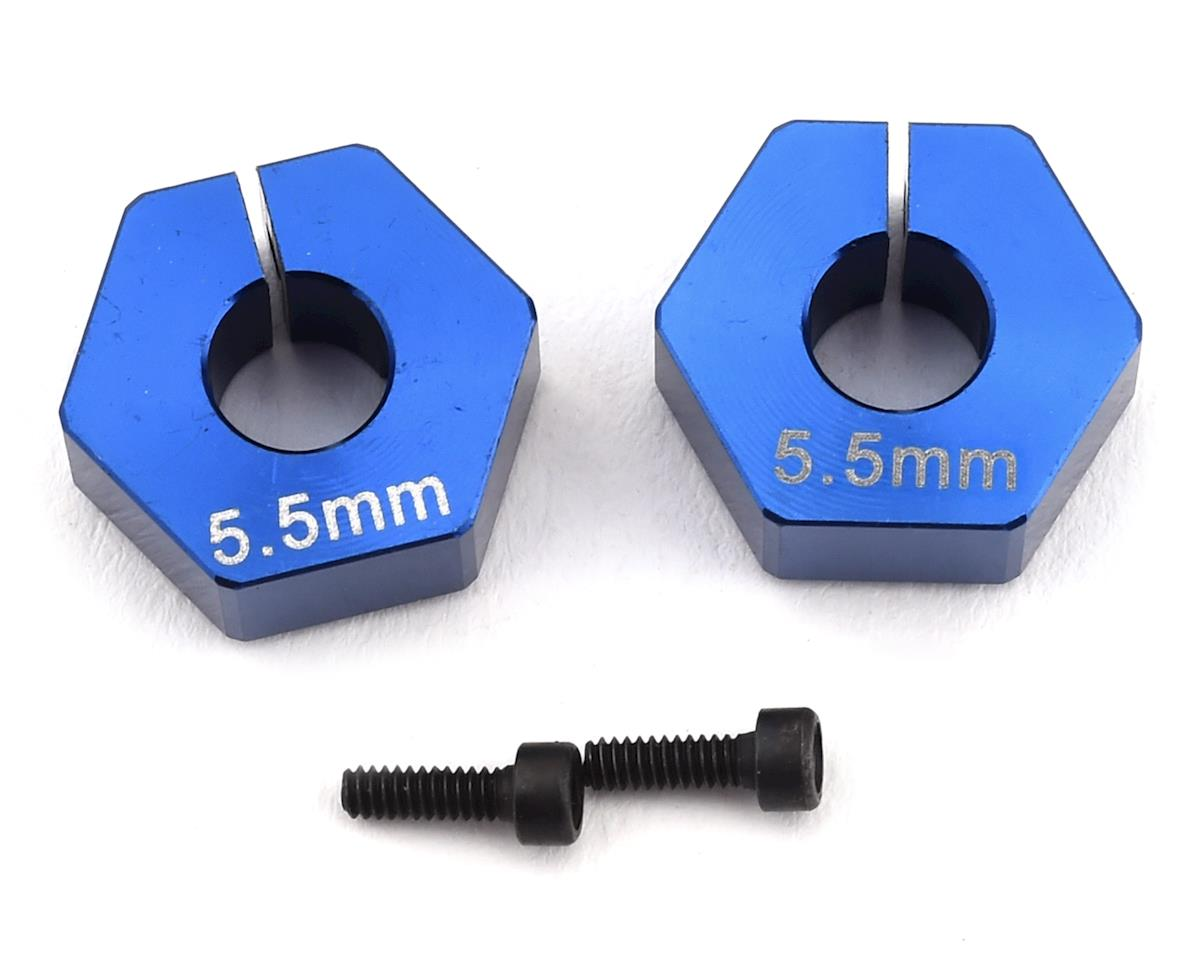 Custom Works 12mm Outlaw 4 Clamping Hex (2) (+5.5mm Offset) (5mm Axle)