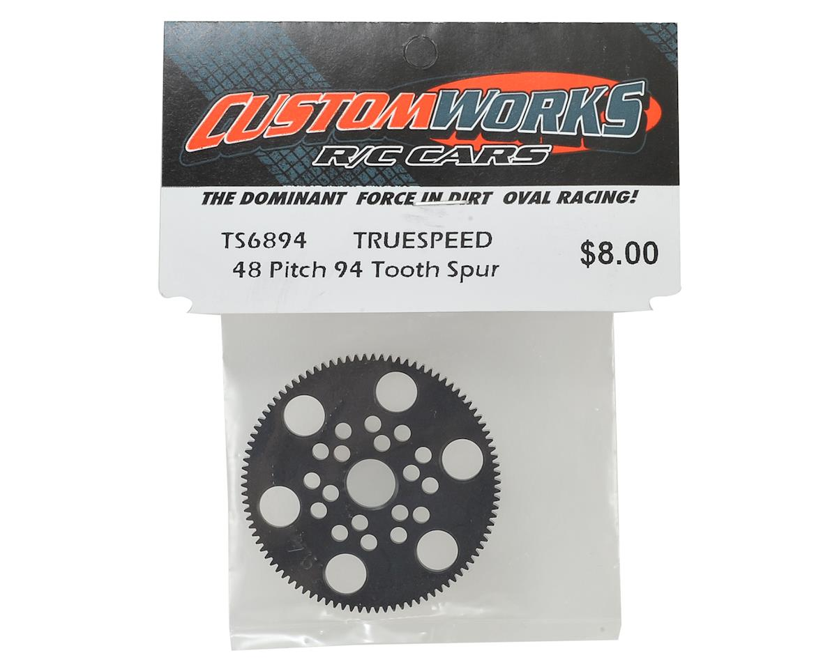 Custom Works Truespeed 48P Spur Gear (94T)