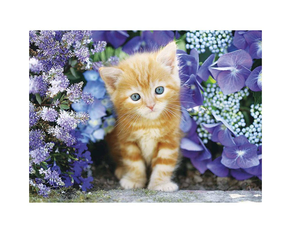 30415 Ginger Cat in Flowers 5OOpcs