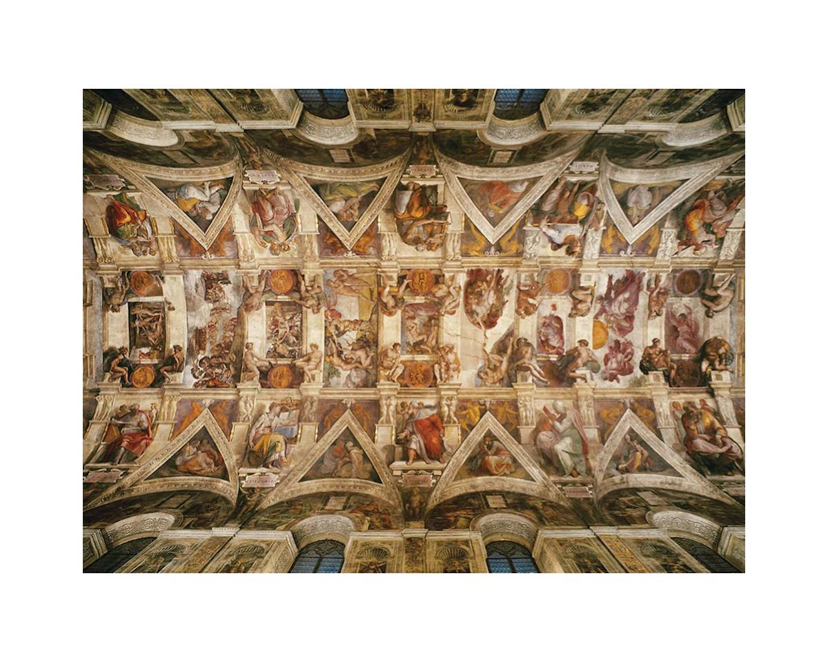 39225 Michelangelo Sistine Chapel Ceiling 1000pcs