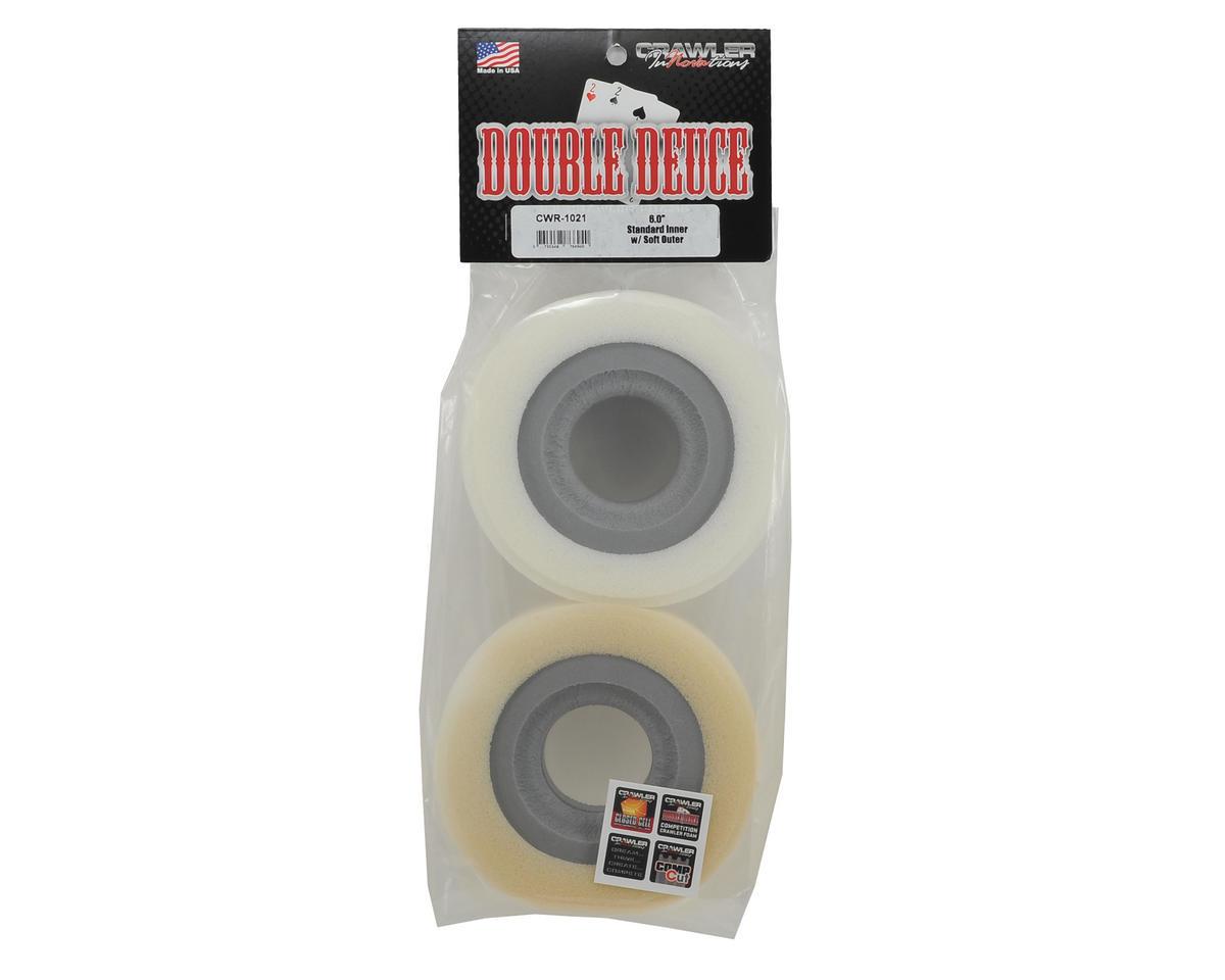 "Crawler Innovations ""Double Deuce 6.0"" 2.2 Crawler Foam (2) (Standard/Soft)"