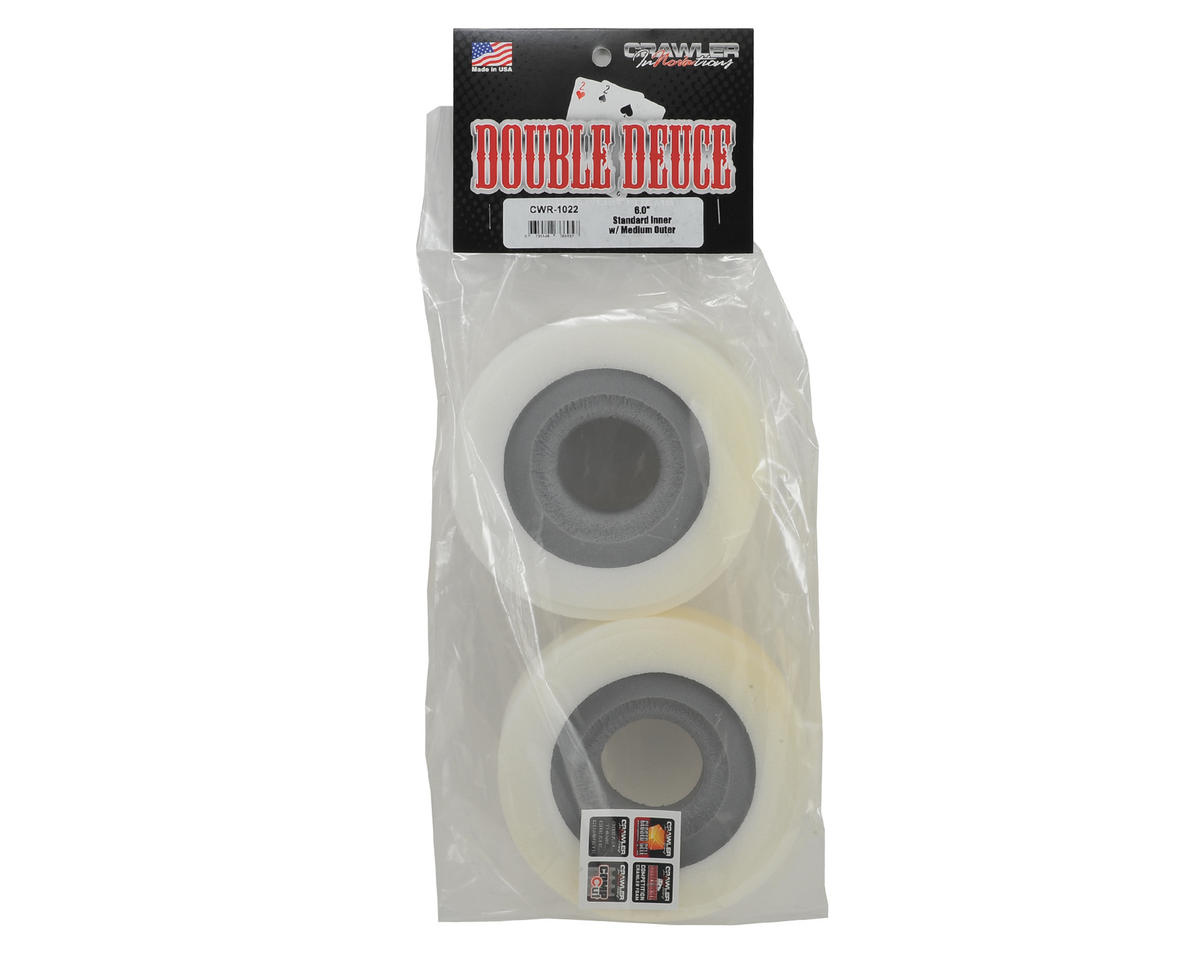 "Crawler Innovations ""Double Deuce 6.0"" 2.2 Crawler Foam (2) (Standard/Medium)"