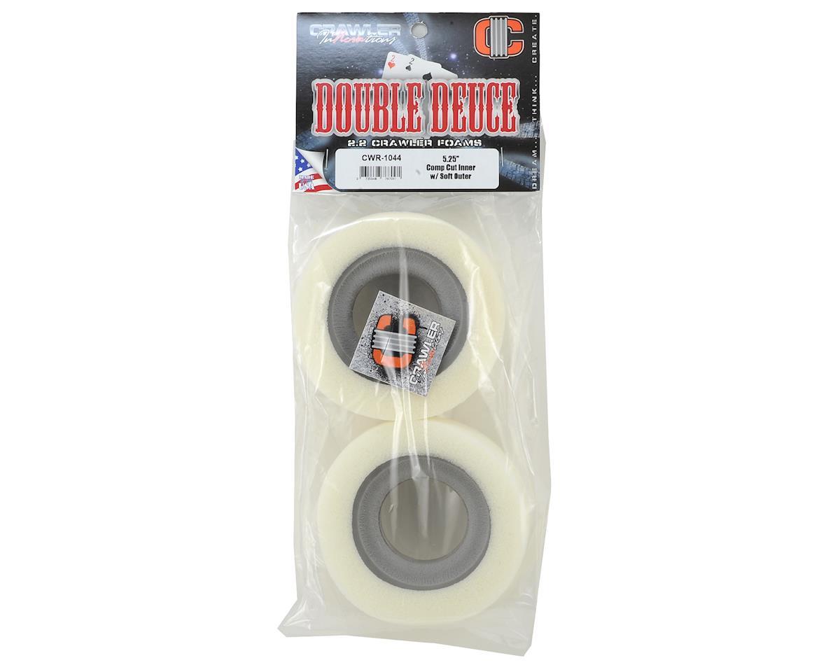 "Crawler Innovations Double Deuce 5.25"" 2.2 Crawler Foam w/Comp Cut Inner (2)"
