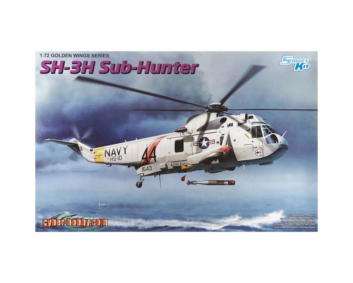 5114 1/72 Sea King SH-3 by Cyber Hobby Plastic Models