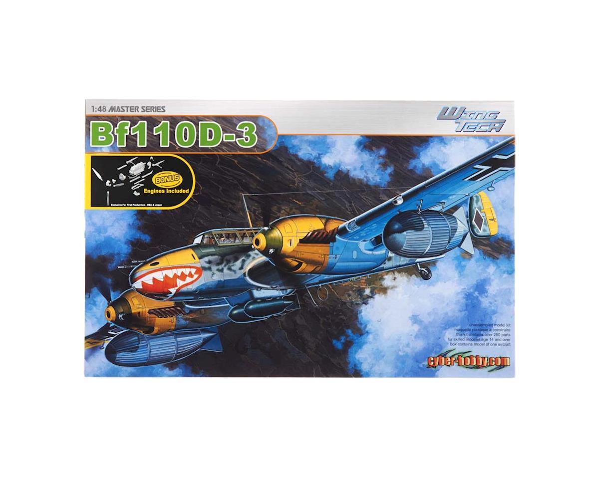 5555 1/48 Messerschmitt Bf-110D-3 by Cyber Hobby Plastic Models