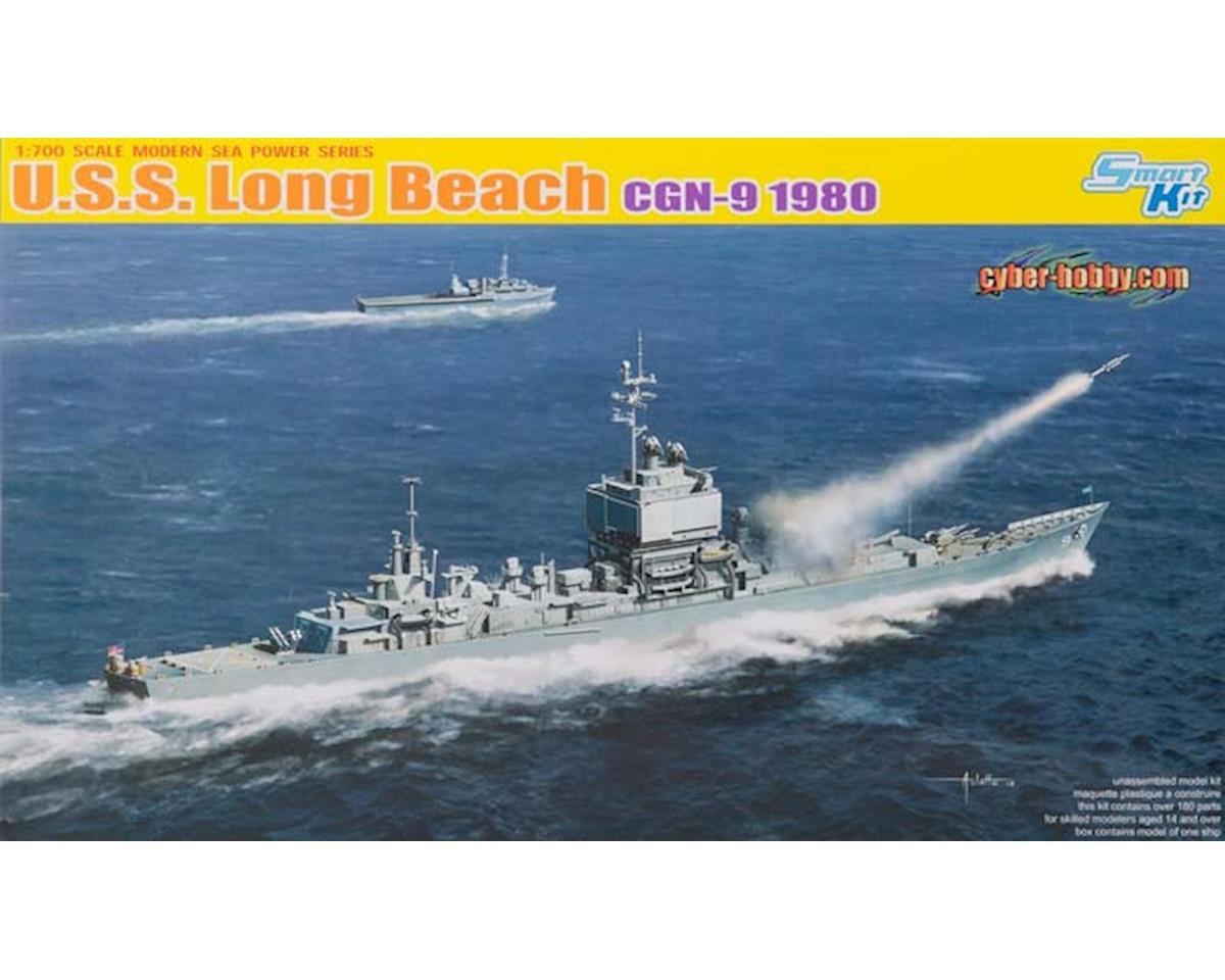 1/700 U.S.S. Long Beach CGN-9 1980 by Cyber Hobby Plastic Models