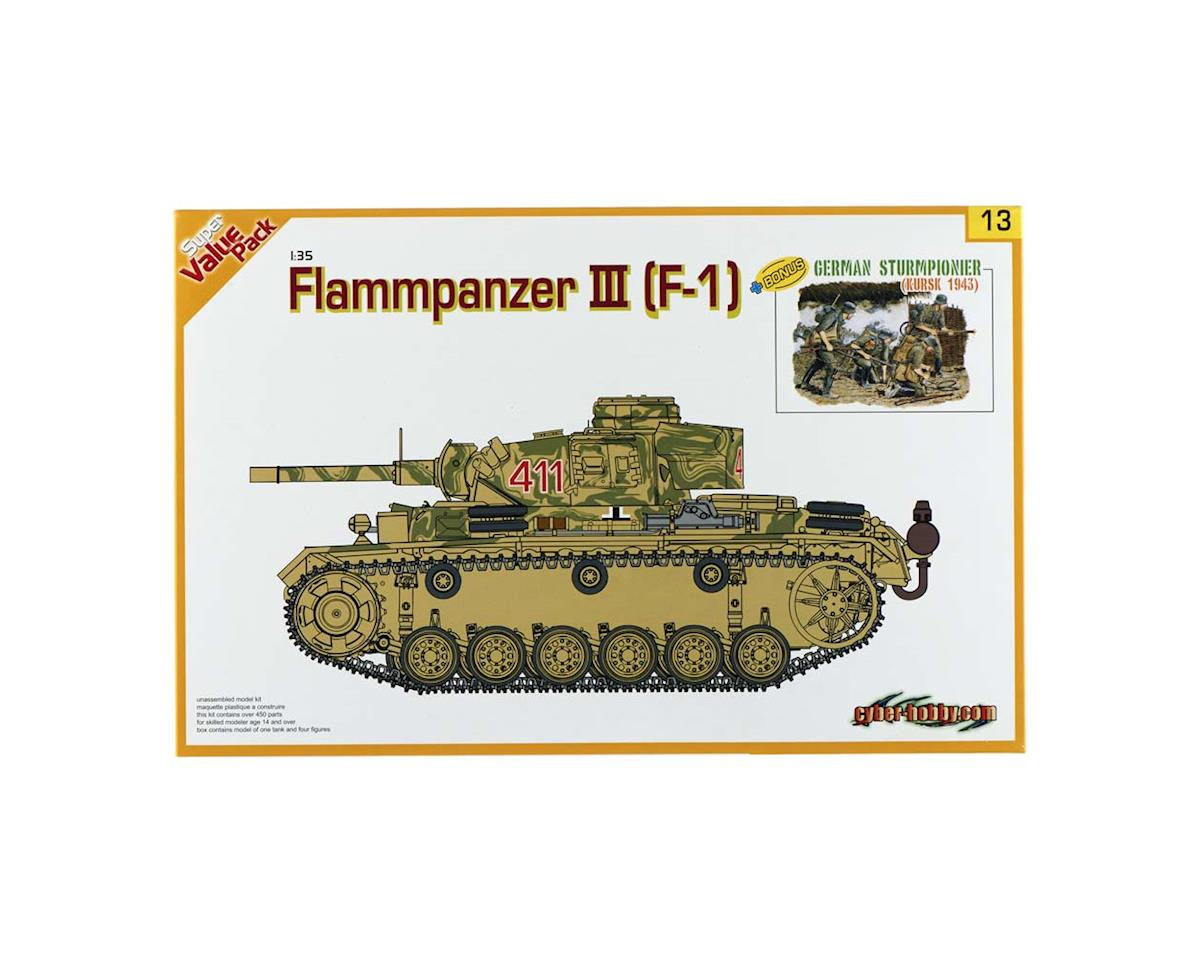 1/35 Flammpanzer III with Bonus by Cyber Hobby Plastic Models