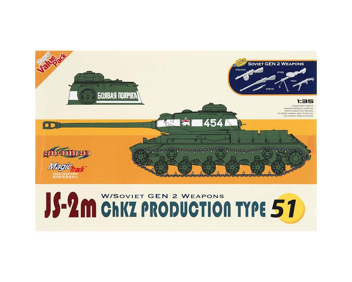 1/35 JS-2m ChZK Production Type (Orange) by Cyber Hobby Plastic Models