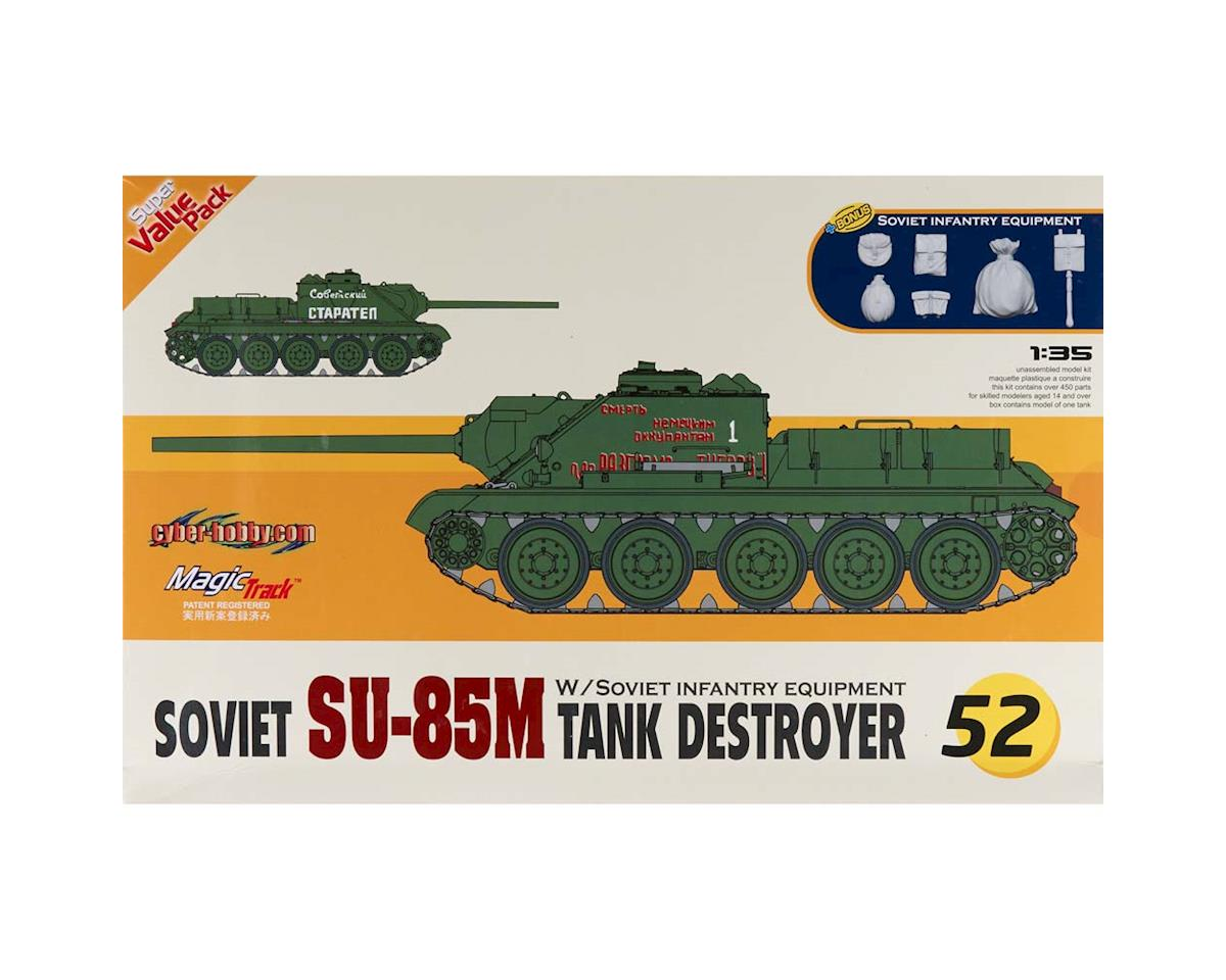 Cyber Hobby Plastic Models 9152 1/35 Soviet SU-85M Tank Destroyer (Orange)
