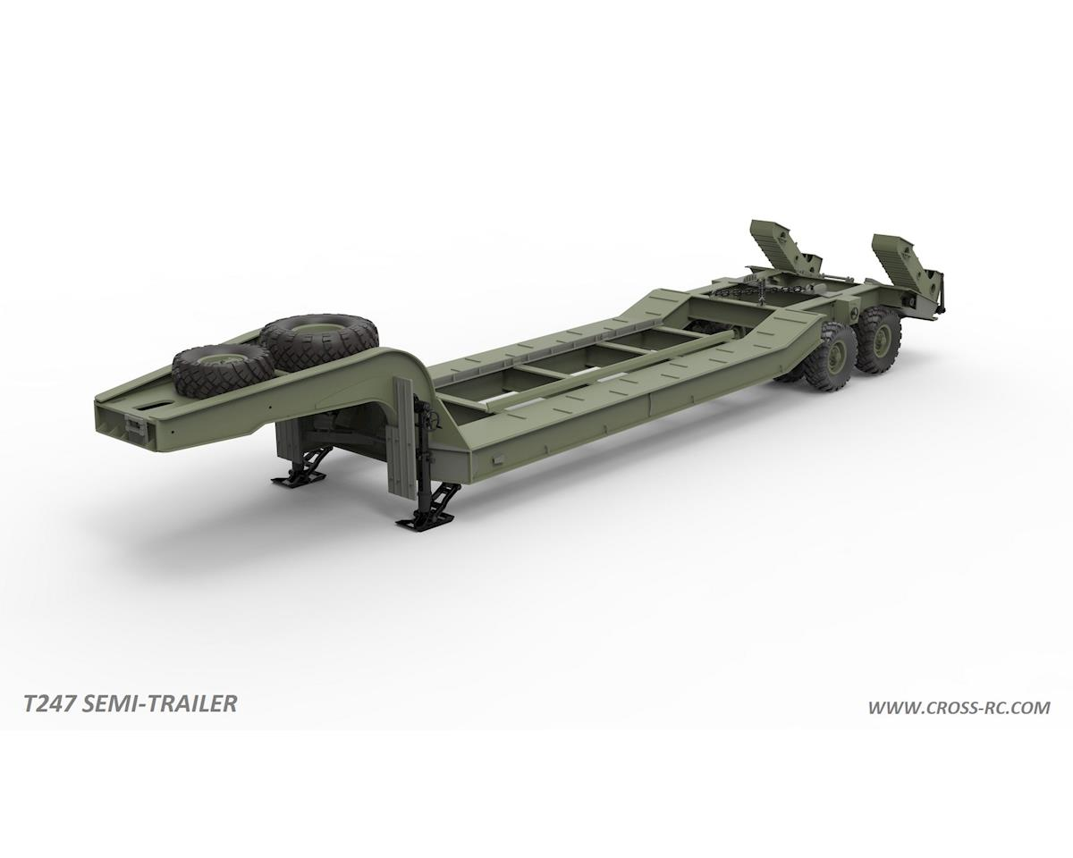 Cross RC T247 Flatbed Trailer Kit for BC8