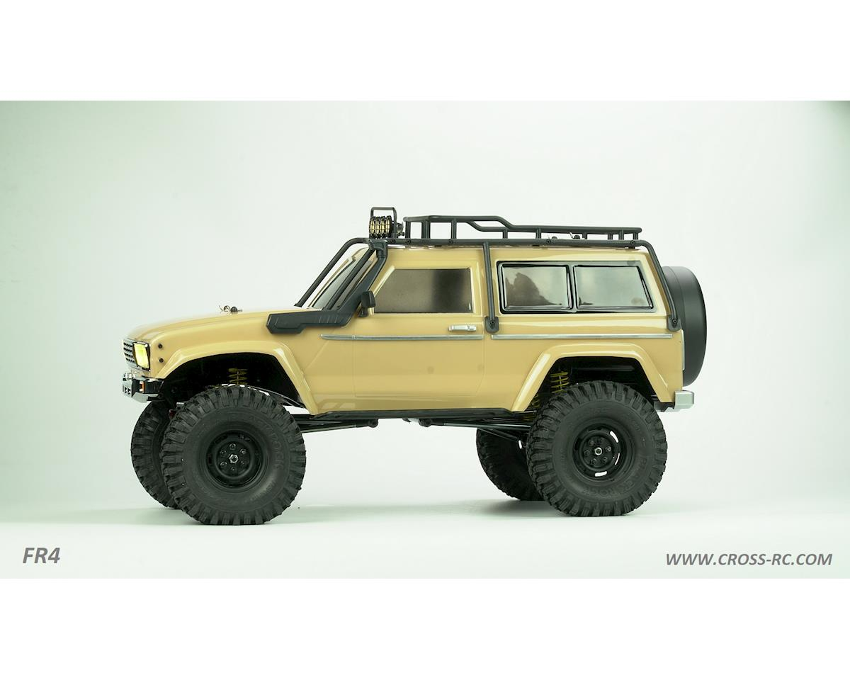 Cross RC FR4A 1/10 Demon 4x4 Crawler Kit-Lexan SUV Body Basic
