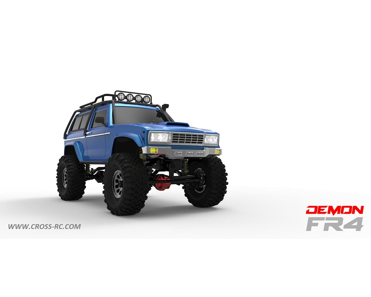 Cross RC FR4C 1/10 Demon 4x4 Crawler Kit-Lexan SUV Body Full Metal