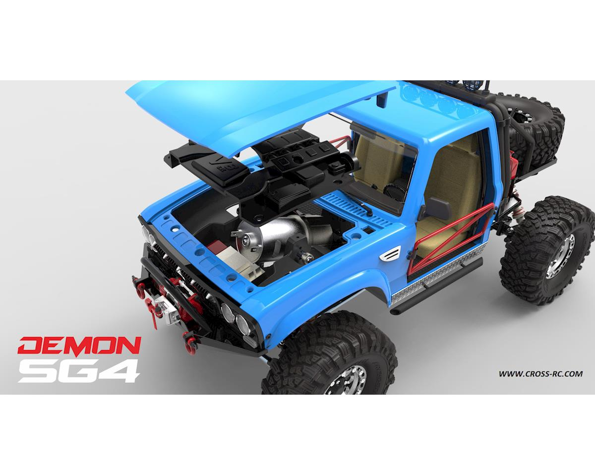 Cross RC Demon SG4B 1/10 4x4 Crawler Kit w/Hard Body & Aluminum Wheels
