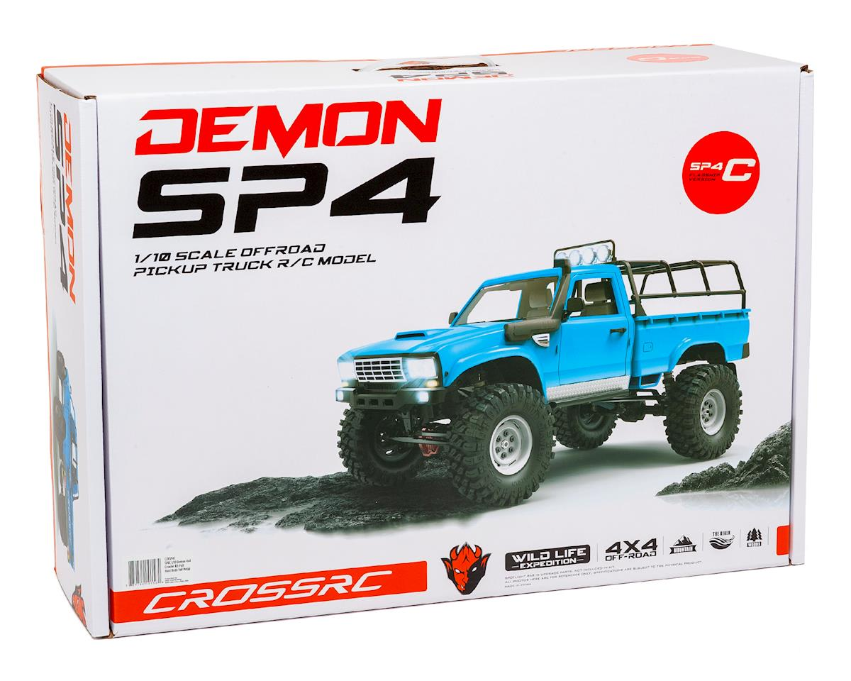 Cross RC SP4C 1/10 Demon 4x4 Crawler Kit-Full Hard Body Full Metal