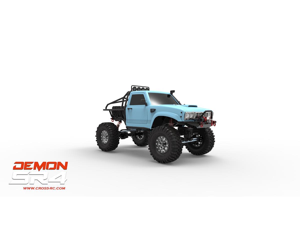 Cross Rc Demon Sr4b 1 10 4x4 Crawler Kit W Lexan Body Aluminum Stratocaster Wiring Diagram Wheels Czrsr4b Rock Crawlers Amain Hobbies