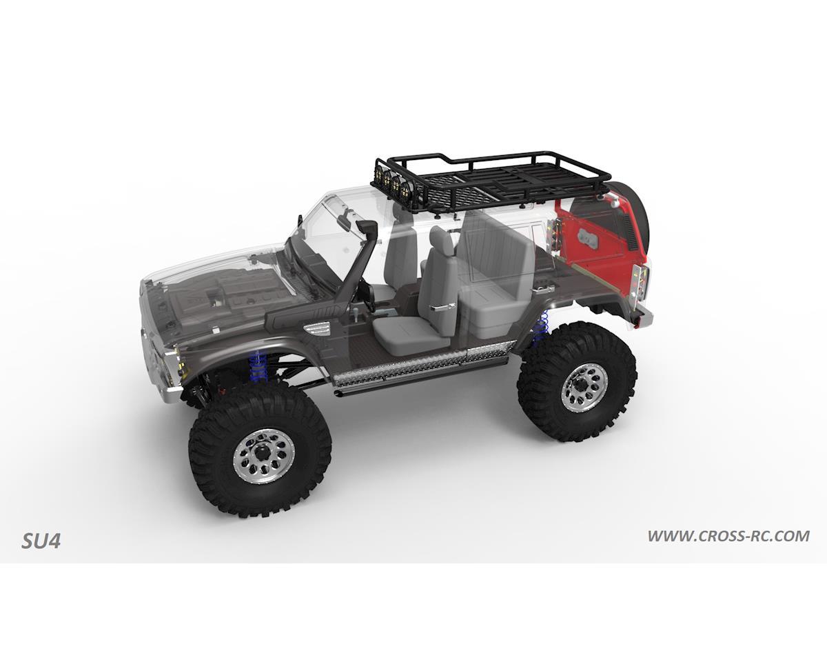 Cross RC SU4A 1/10 Demon 4x4 Crawler Kit-Full Hard Body SUV Basic