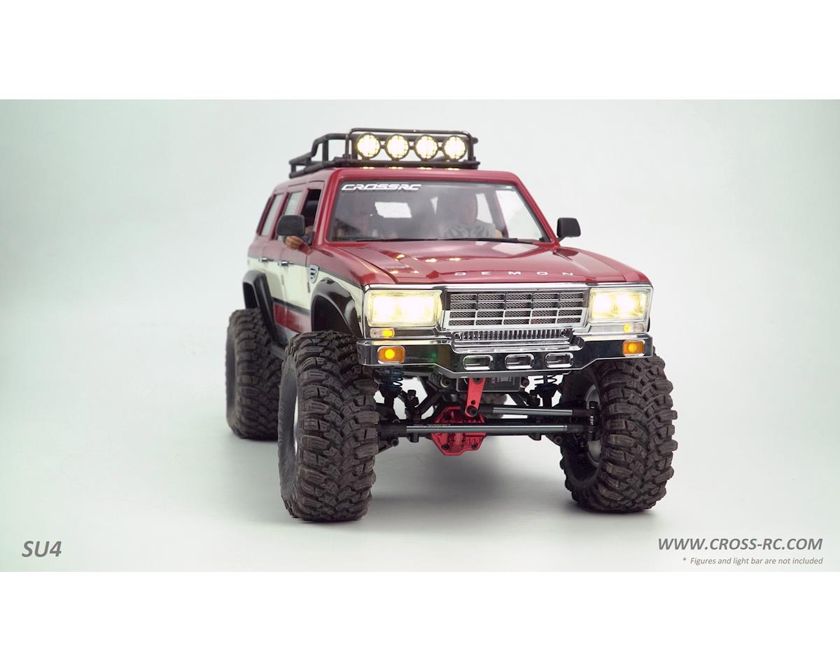 Cross RC SU4C 1/10 Demon 4x4 Crawler Kit-Full Hard Body SUV CNC Rims