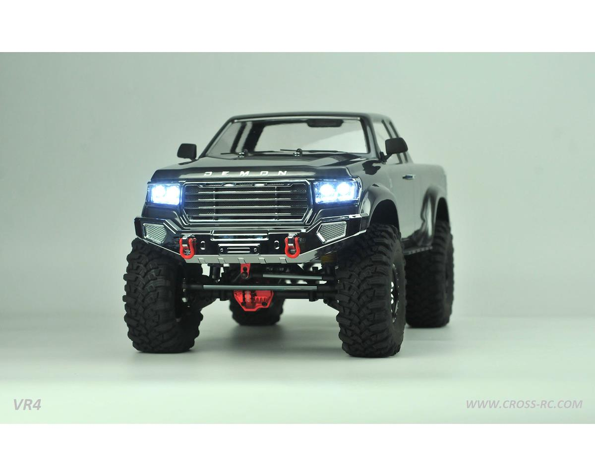 Cross RC VR4C 1/10 Demon 4x4 Crawler Kit-Lexan Body Full Metal