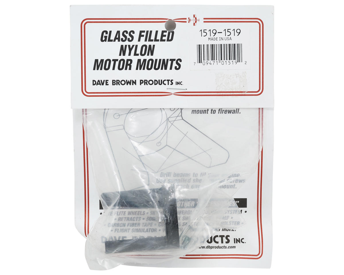 Glass Filled Motor Mount (.15-.19) by Dave Brown Products