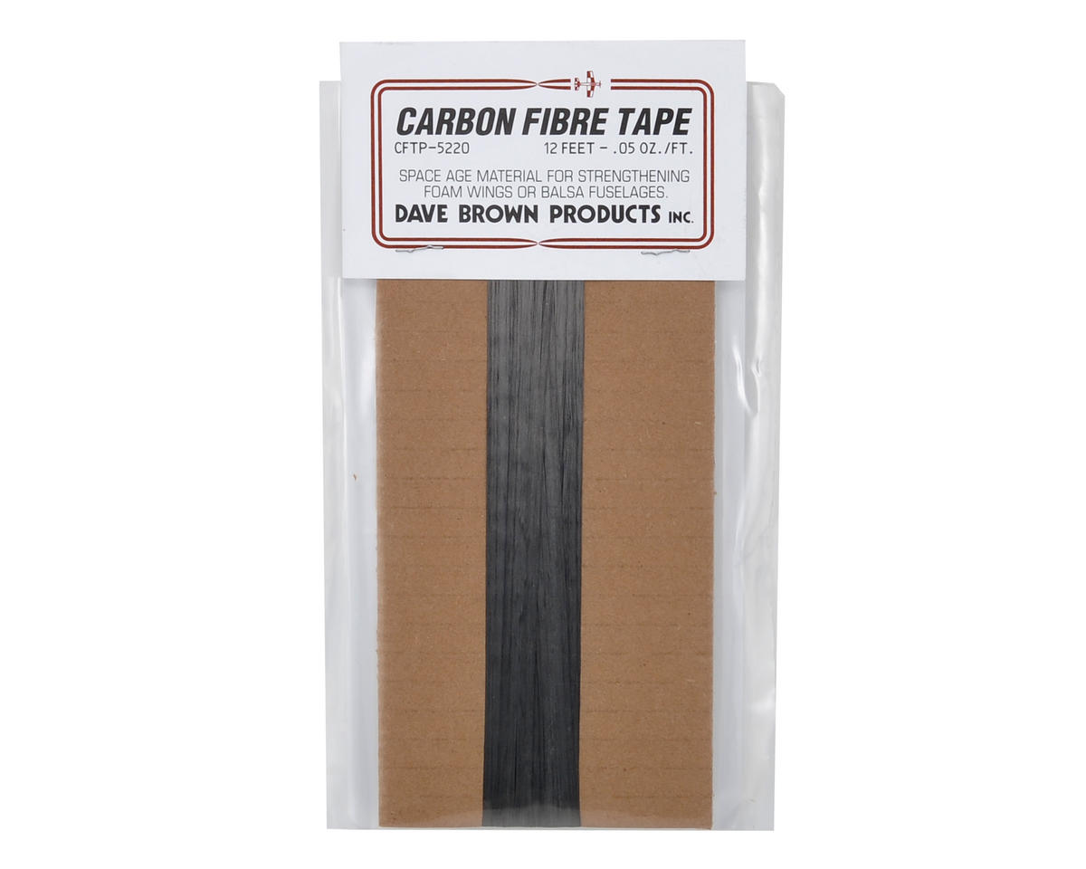 "Carbon Fiber Tape (3/4""x12') by Dave Brown Products"