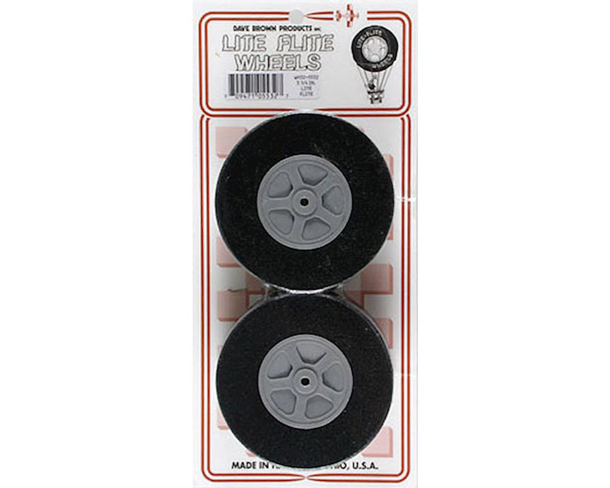 """Dave Brown Products WH32 Lite Wheel 3-1/4"""" (2)"""