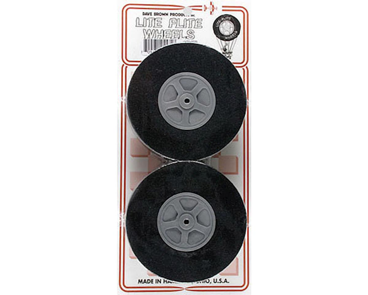 "Dave Brown Products WH35 Lite Wheel 3-1/2"" (2)"