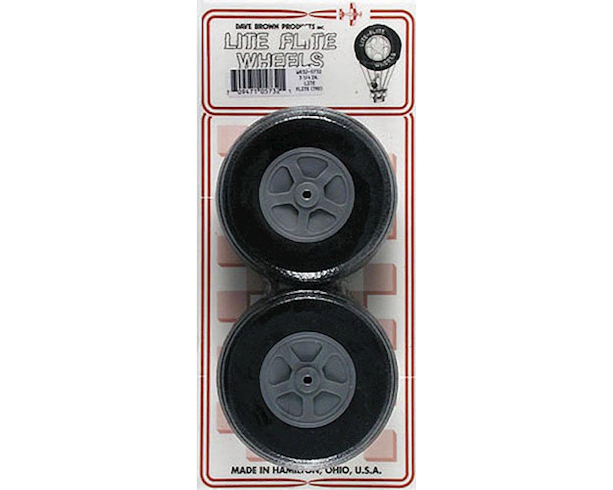 Dave Brown Products WR32 Treaded Lite Wheel 3-1/4""