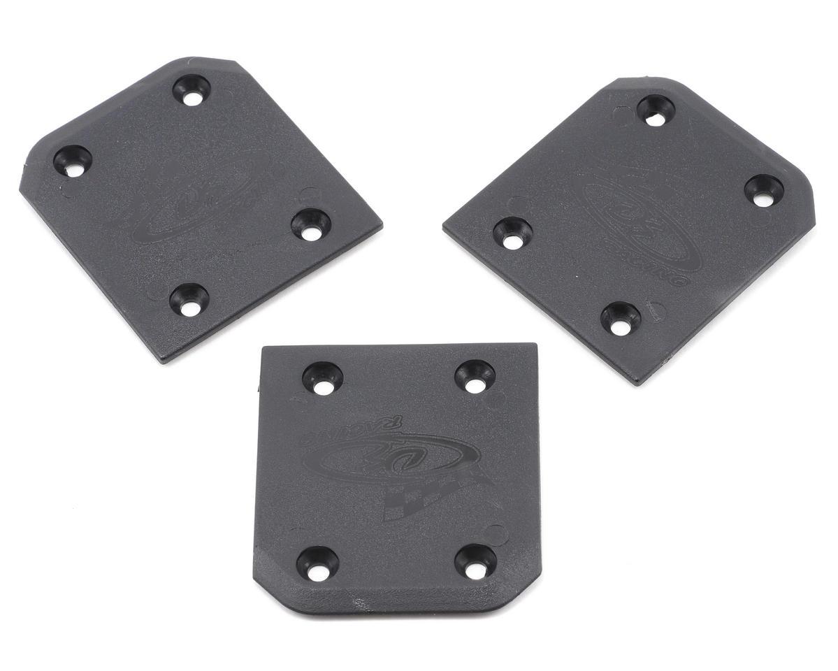 DE Racing Rear Skid Plates (3) (OFNA/HoBao Hyper ST)