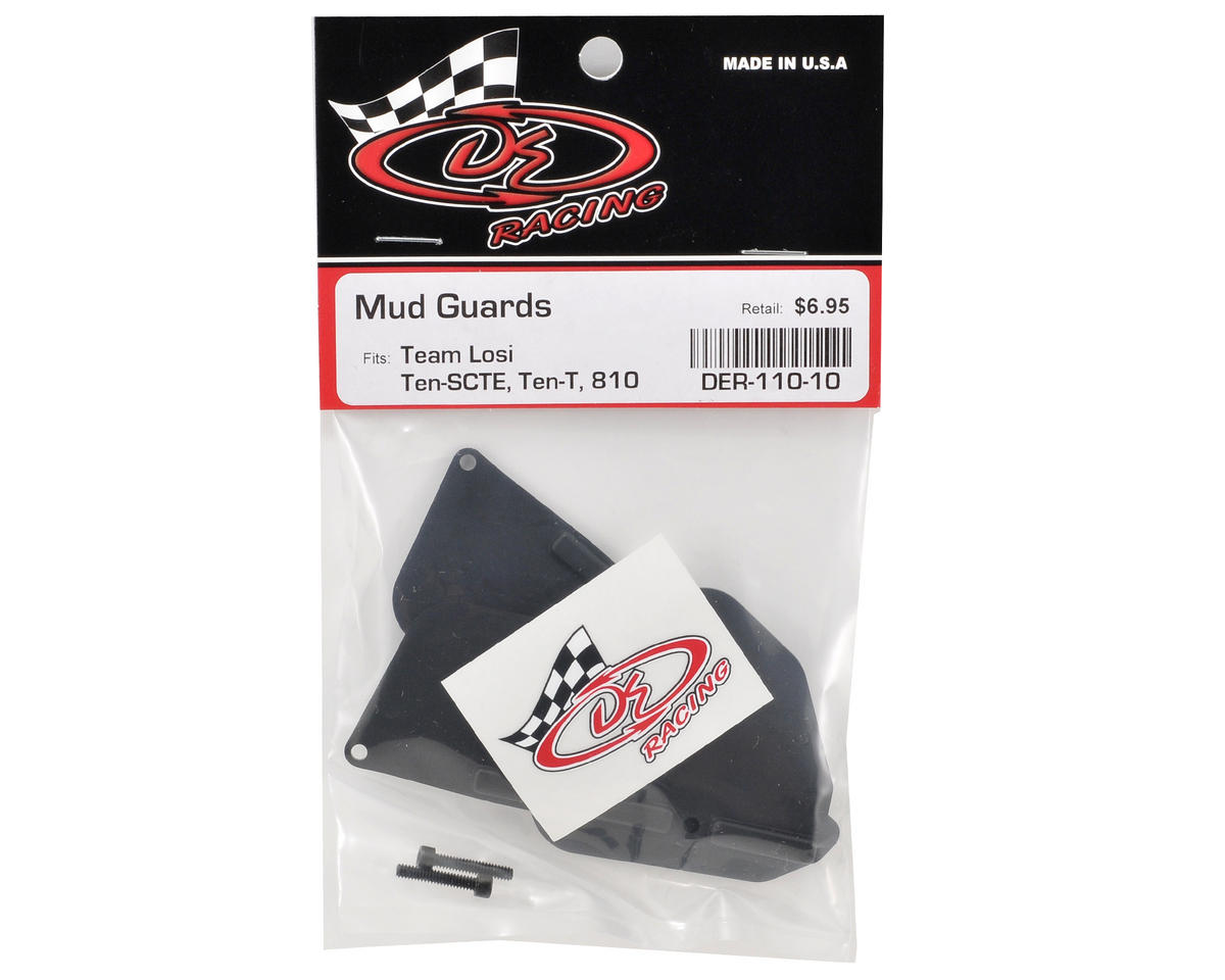 DE Racing Mud Guard Set (TEN-T/SCTE/810)
