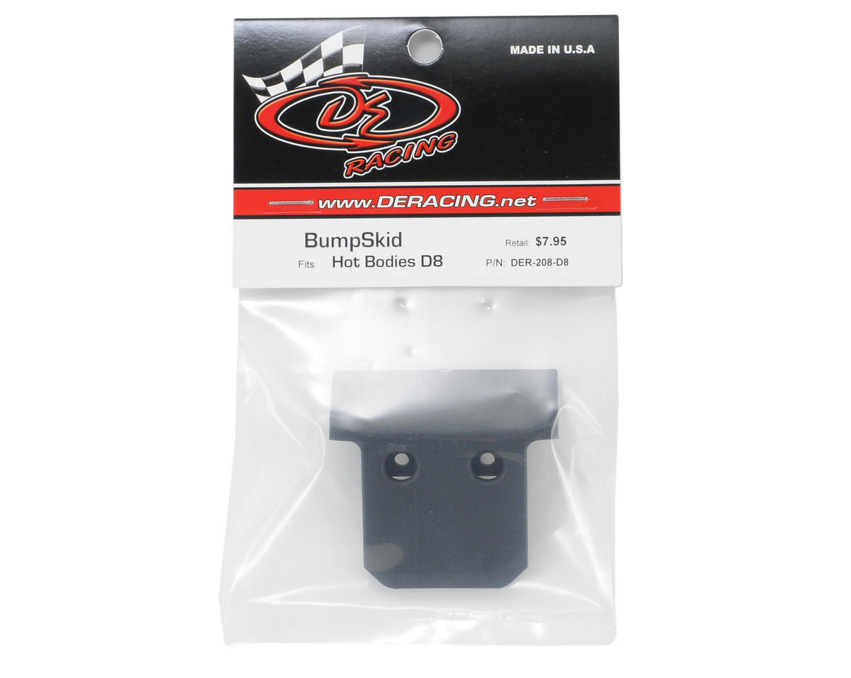 DE Racing BumpSkid (Hot Bodies D8)