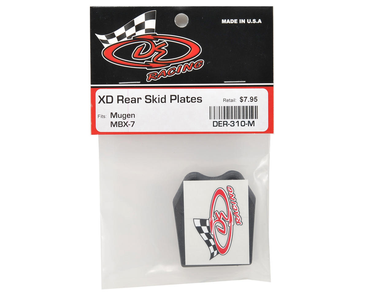 "DE Racing XD ""Extreme Duty"" Rear Skid Plates (3)"