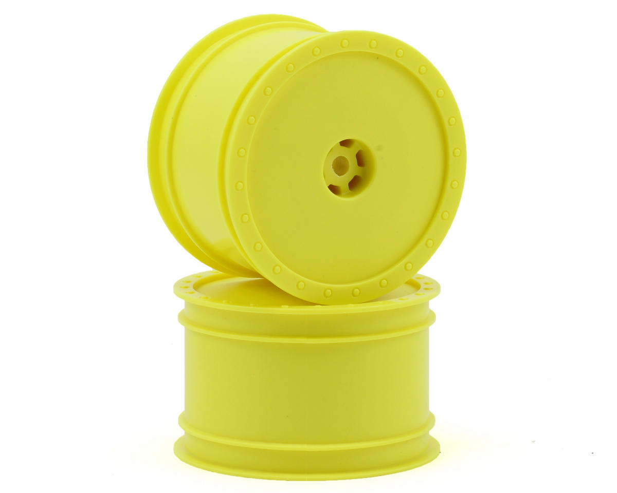 DE Racing Borrego 2.2 1/10 Buggy Rear Wheels (2) (Yellow)