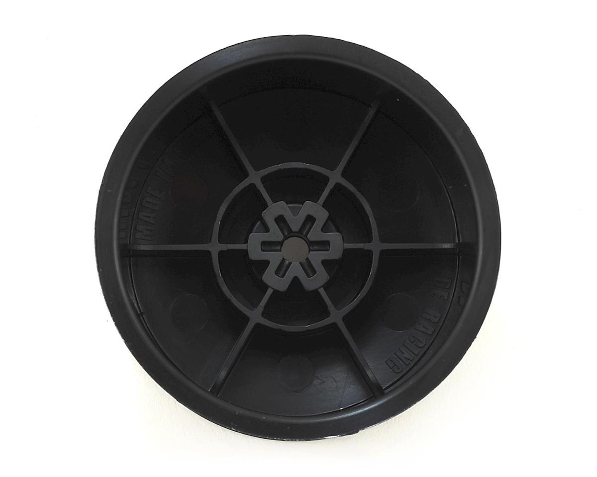 "DE Racing ""Borrego"" 2.2 1/10 Buggy Rear Wheels (4) (B4/B44) (Black) (Pins)"