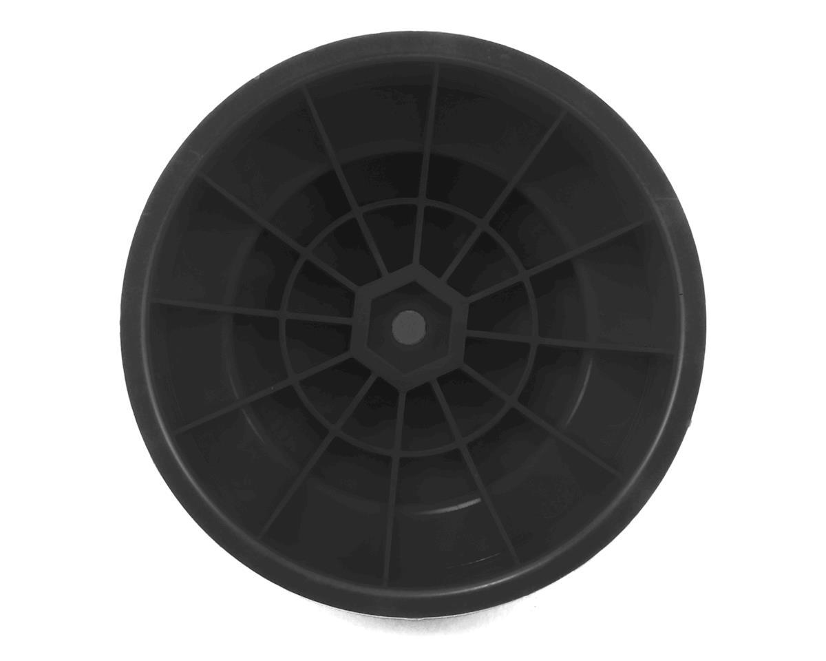 "DE Racing 12mm Hex ""Borrego"" Short Course Wheels (Black) (4) (22SCT/TEN-SCTE)"