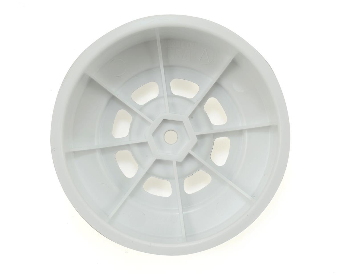 DE Racing Speedway SC Dirt Oval Wheels (Silver) (4) (+3mm Offset/29mm Backspace)