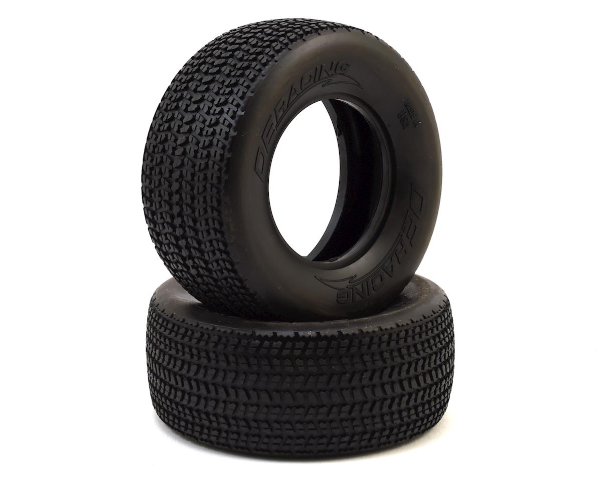 "DE Racing G6T Grooved Oval SC 2.2/3.0"" Short Course Truck Tires (2)"