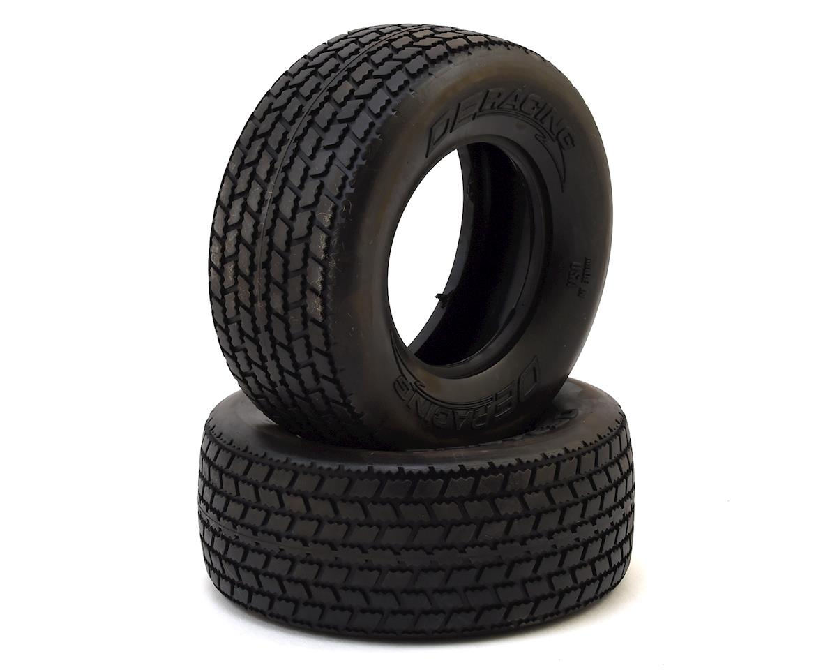 "DE Racing G6T Oval SC 2.2/3.0"" Short Course Truck Tires (2)"