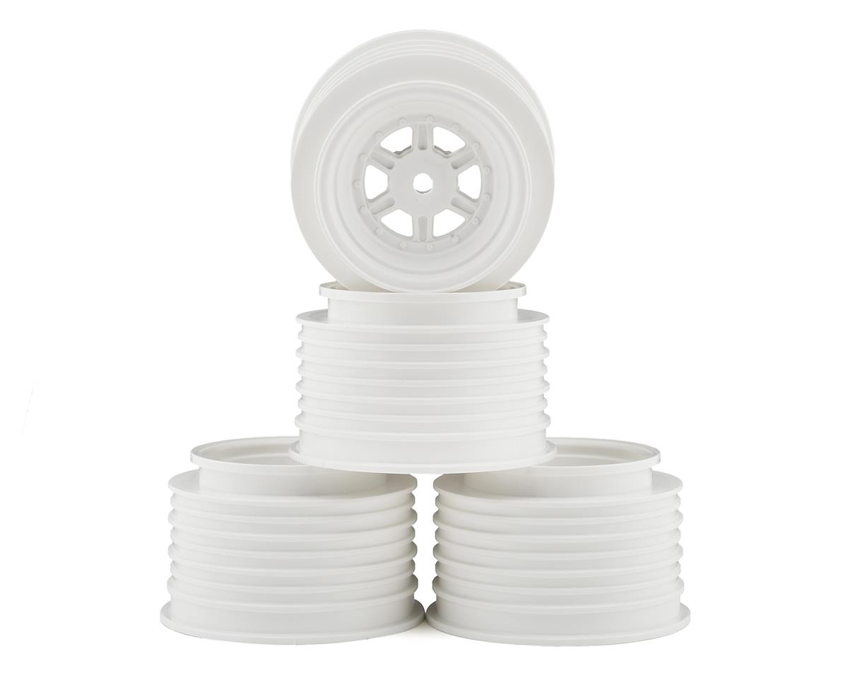 DE Racing Regulator Gambler Rear Sprint Wheels (AE/TLR) (White)