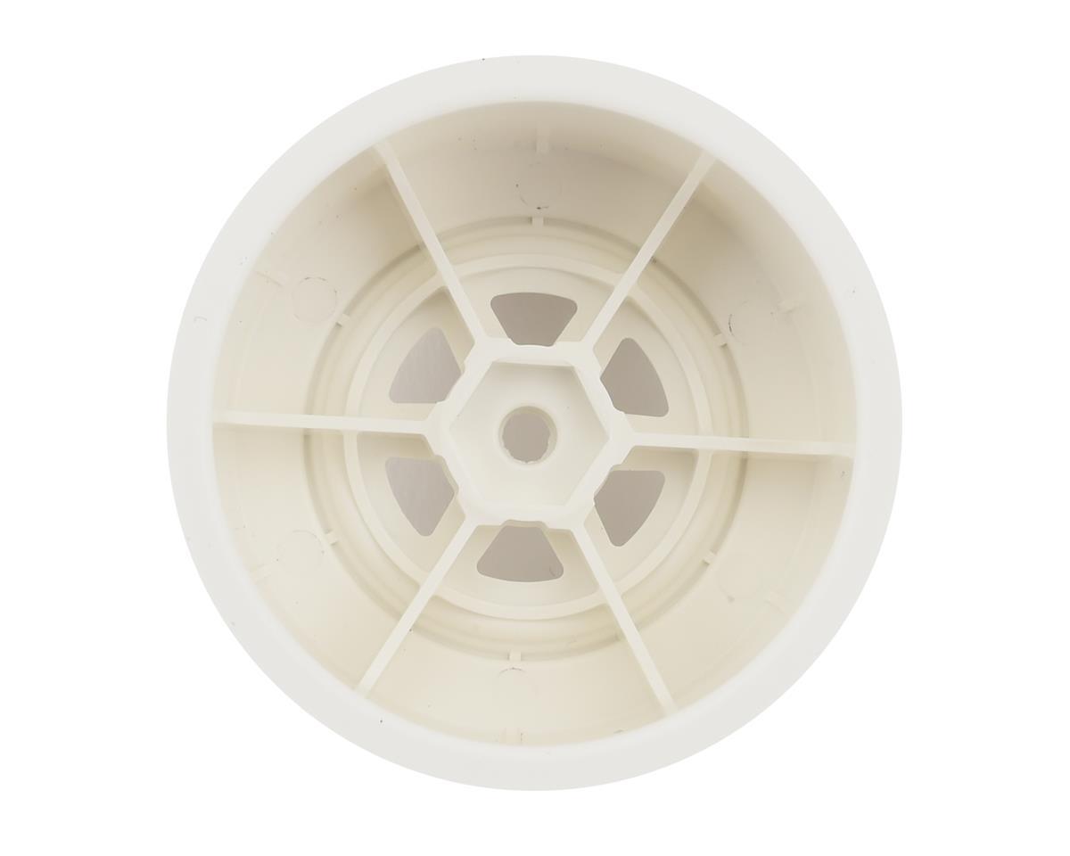 DE Racing Gambler Rear Late Model Wheels (AE/TLR) (White)