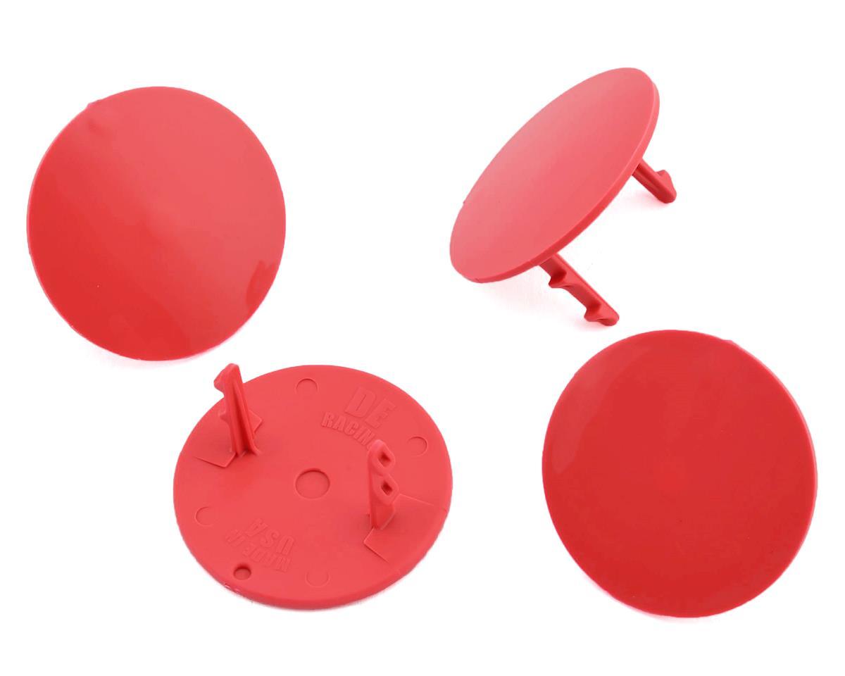 DE Racing Gambler Dirt Oval Mud Plugs (Red) | alsopurchased