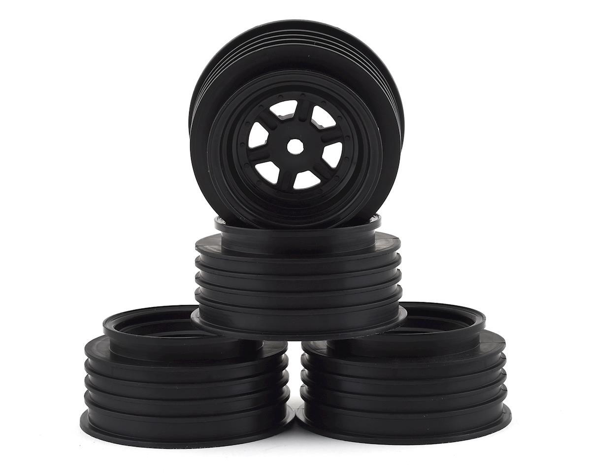 DE Racing Gambler Front Wheels (AE Offset) (Black)