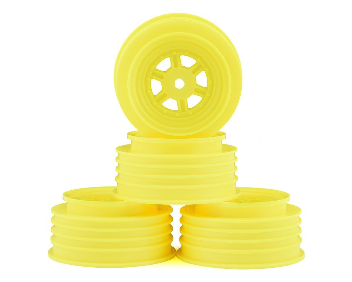 DE Racing Gambler Front Wheels (AE Offset) (Yellow)